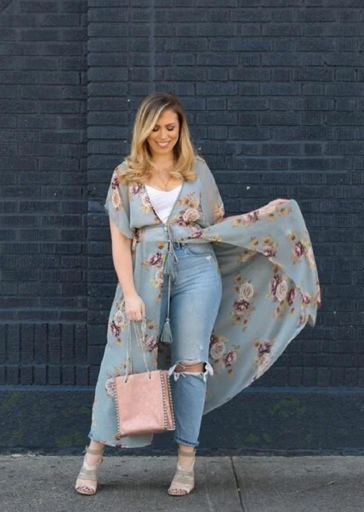 Удлиненные блузы в стиле кимоно - весенний тренд и шикарное дополнение к образу: как и с чем их носить