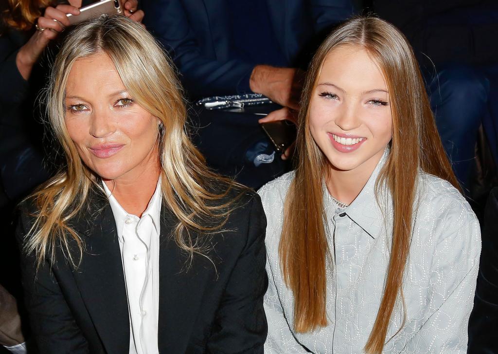 Дочери известной супермодели Кейт Мосс прочат успешную карьеру фотомодели, хотя ей еще нет 18