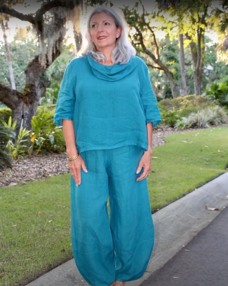 Элегантно, но не мрачно: советы по стилю на весну для женщин старше 60