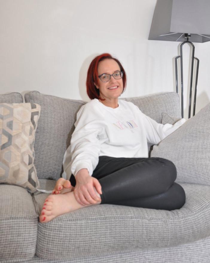 Взяла себя в руки после неловкости в самолете: англичанка похудела на 59 кг
