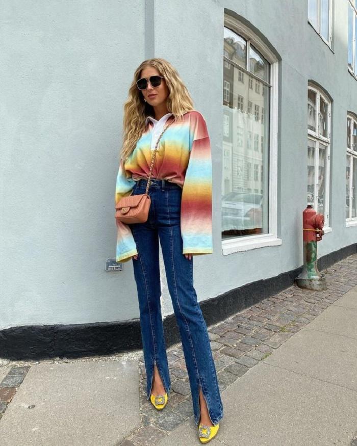 Брюки с разрезами – тренд весны: как превратить с ними простой образ в модный и скорректировать фигуру
