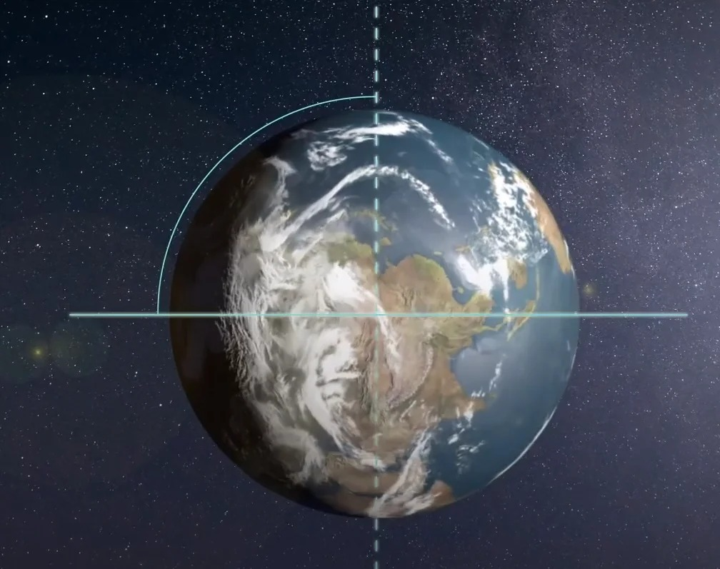 Ученые узнали, насколько из-за климатических перемен за последние несколько десятков лет изменился наклон Земли