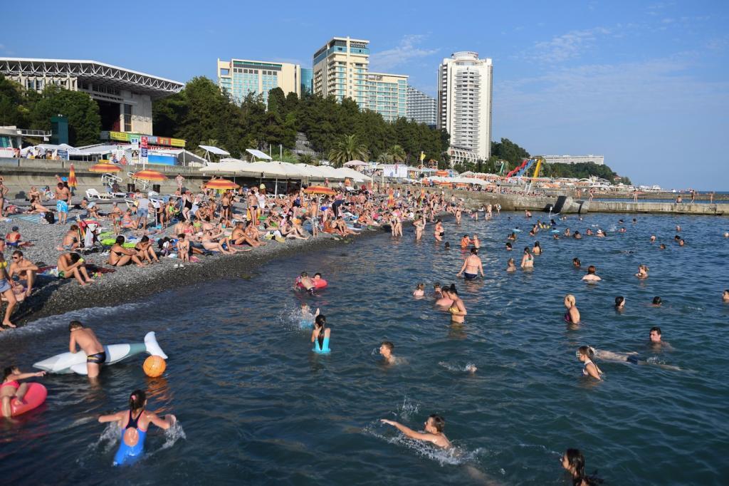 В Сочи на майские праздники готовятся принять до 200 тысяч гостей