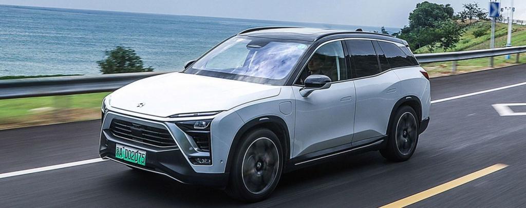 Новинка: на российский рынок впервые поступили электромобили Nio из Китая