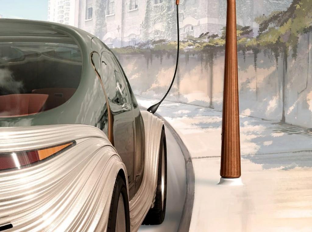 Столовая, двухспальная кровать или игровая капсула: невероятная концепция самоуправляемого электромобиля в Китае