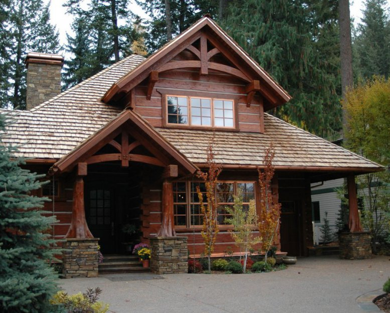 В России могут быть введены скидки на деревянные домокомплекты