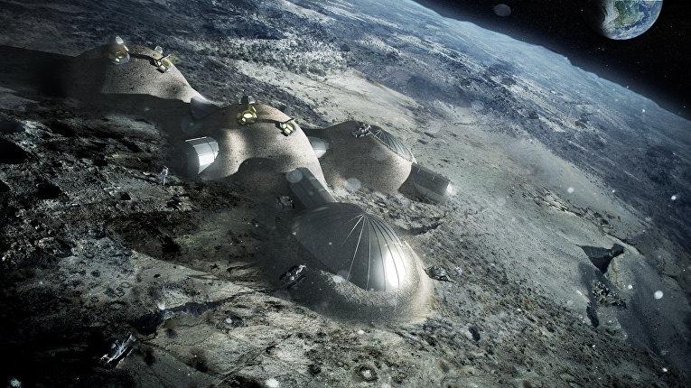 """Готов ли человек к высадке на Луну? Об этом расскажет эксперимент """"Эскиз"""""""