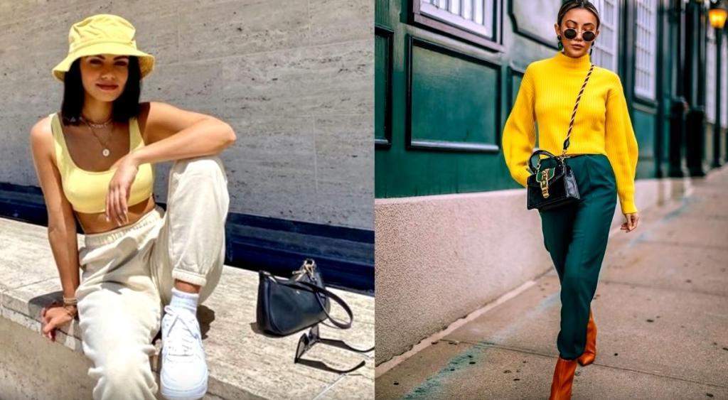 Умение сочетать любимые и трендовые оттенки поможет создать изысканный образ: как это сделать в одежде и аксессуарах