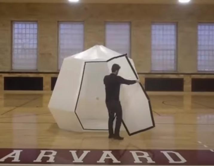 Оригами вдохновило ученых на новый стиль конструирования и строительства (видео)