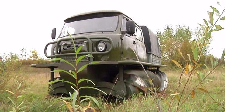 Советский винтоход и не только: военные автомобили и самолеты, которые вызывают восхищение
