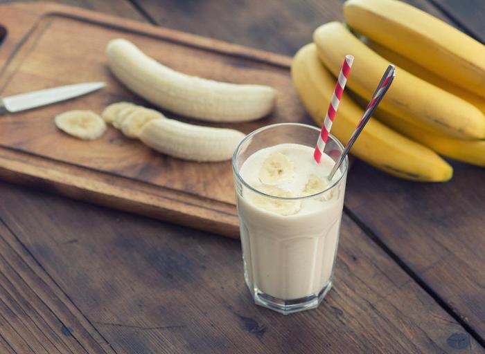 Как сделать смузи банан молоко 668