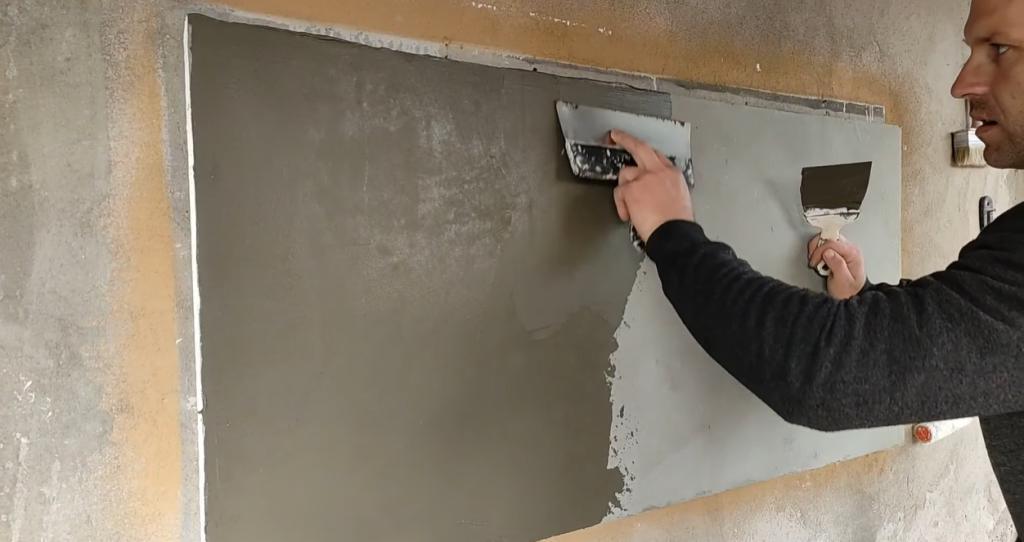 О хитрости знают только строители: делаем стильную кирпичную стенку без кирпича (невозможно отличить от настоящего)