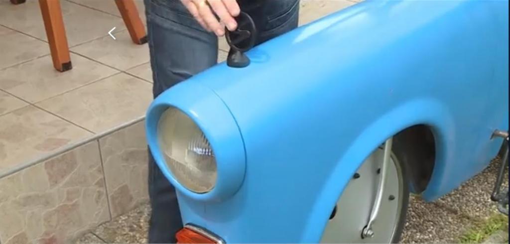 Венгерский умелец из культового автомобиля ГДР Trabant соорудил эффектный велосипед (фото)