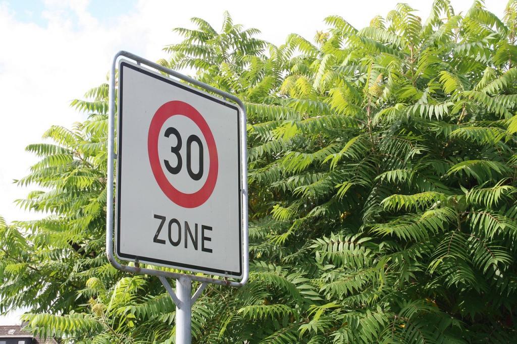 Столичная ГИБДД поддержала введение ограничения скорости до 30 км/час на некоторых улицах города