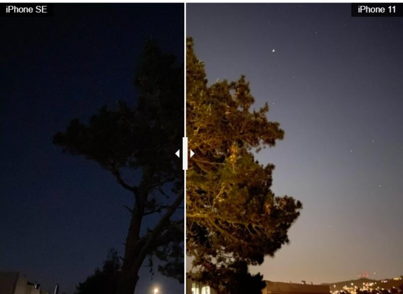 Камера iPhone SE против iPhone 11: чип A13 - секрет отличных фотографий. Сравнение камер по качеству на примере снимков