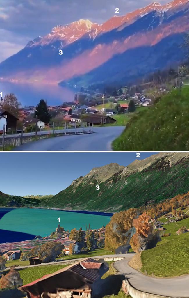 Китайские СМИ решили привлечь туристов красивыми пейзажами. Но в рекламе были не китайские горы, а Швейцарские Альпы