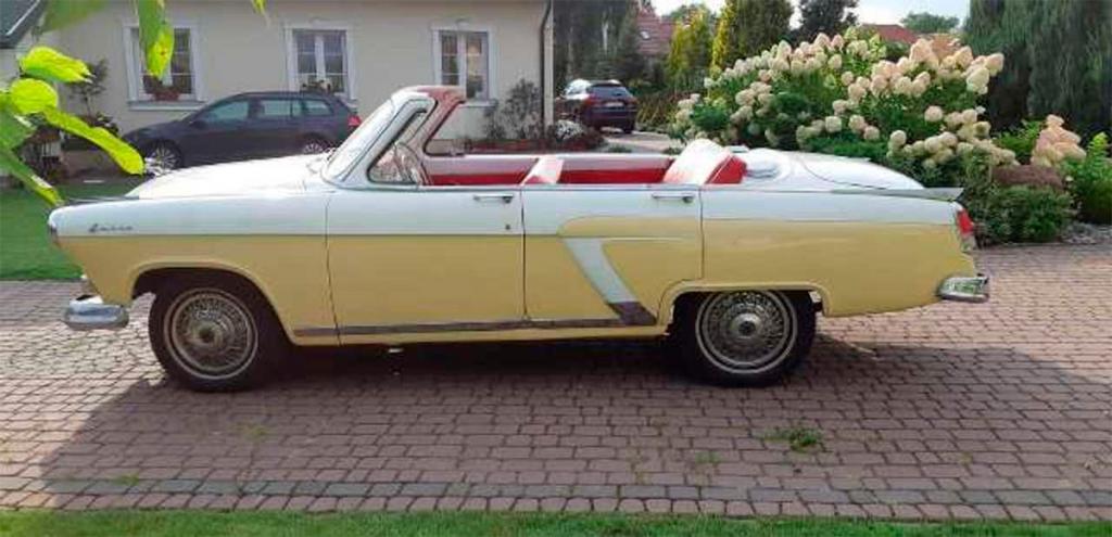 Кабриолет «Волга» маршала СССР: в Германии обнаружен уникальный автомобиль ГАЗ-21 1958 года выпуска в отличном состоянии