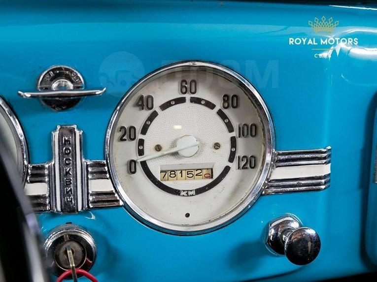 Раритетный москвич «Буратино» 1954 года выпуска продается в Москве