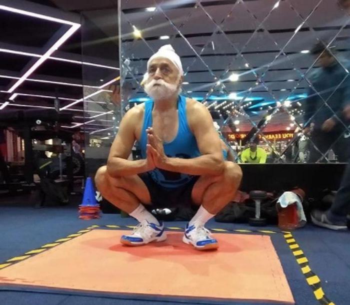 76-летний индиец не только увлекается фитнесом – он вдохновляет молодых и является веганом