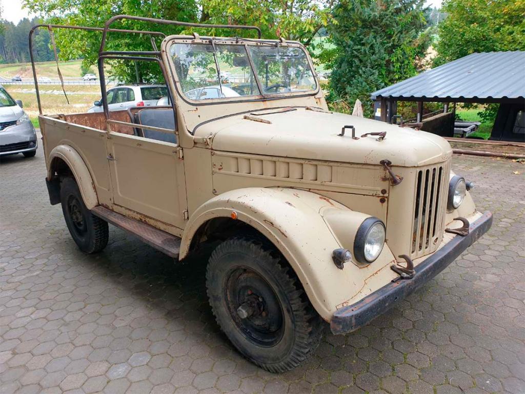 Джип времен СССР ГАЗ-69 обнаружен в Германии с уникальным дизельным двигателем