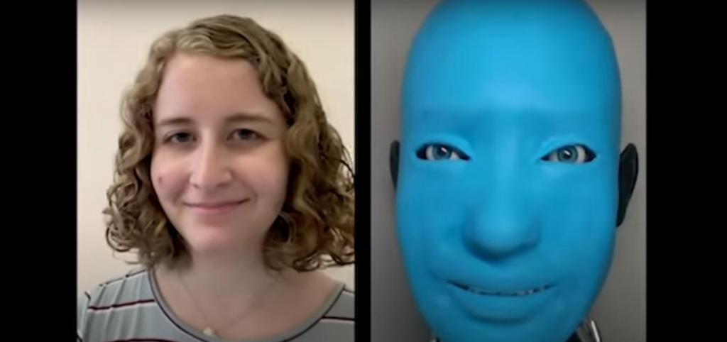 Робот с искусственным интеллектом имитирует человеческие выражения, чтобы завоевать доверие пользователей (видео)