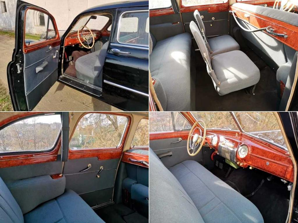 Советский седан ЗИМ 1956 года выпуска, созданный для высших чиновников, продают за 7,9 млн рублей