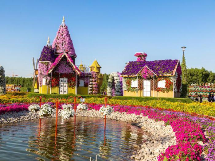 сказочные сады в дубае
