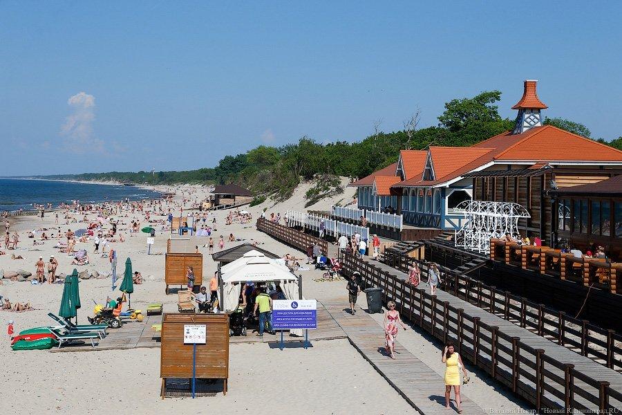 В Калининграде и городах области, где есть море, вводится курортный сбор