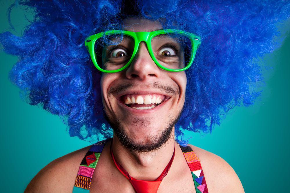 Смешной мужик картинка, днем рождения шариками