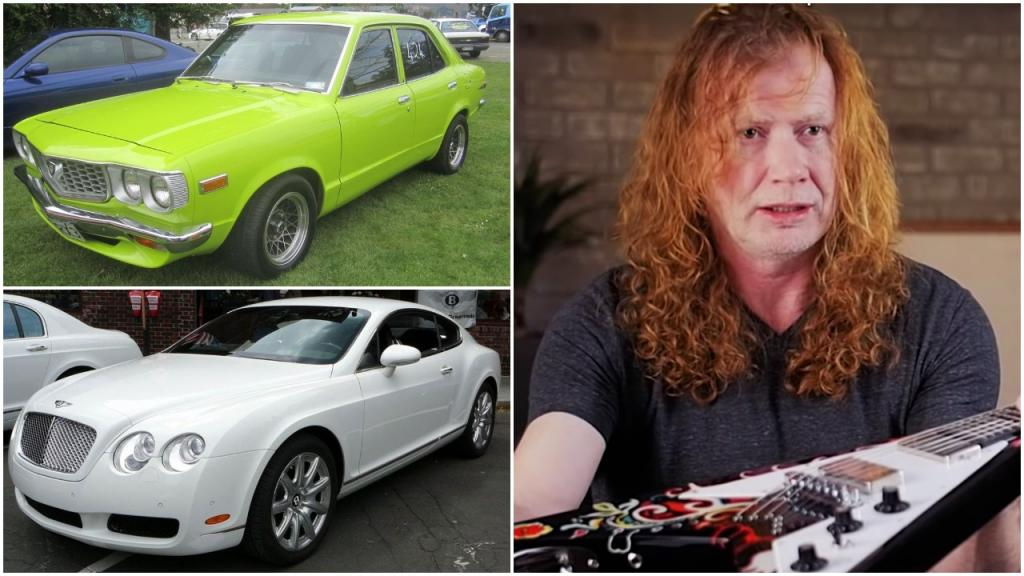 Renault R8, Aston Martin Vanquish и другие автомобили из коллекции гитариста Megadeth Дэйва Мастейна