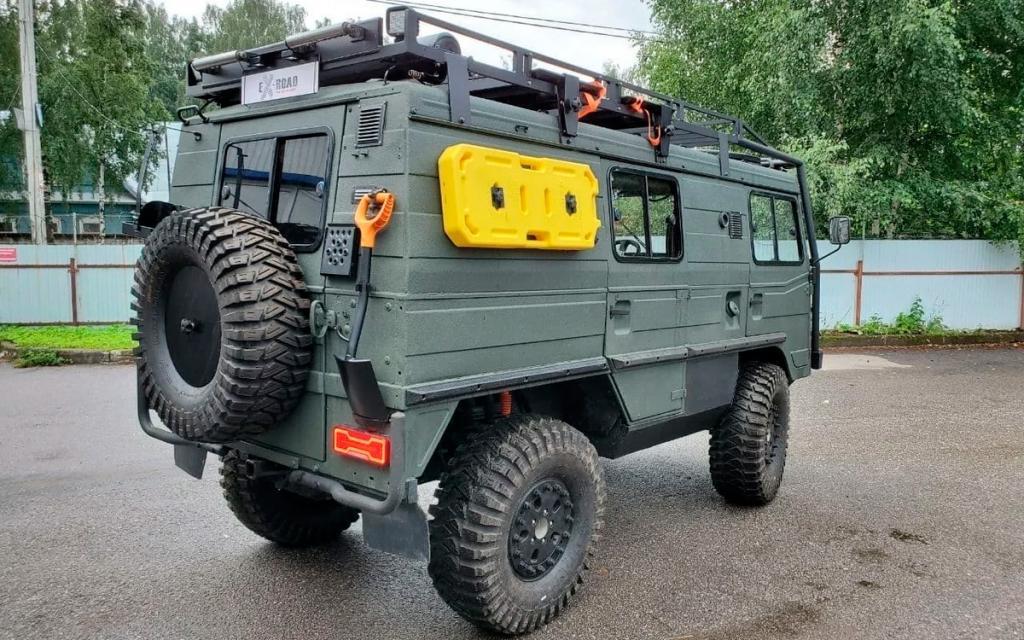 Копия «Буханки» УАЗ-452 выставлена на продажу. Изготовлен тягач в Австрии