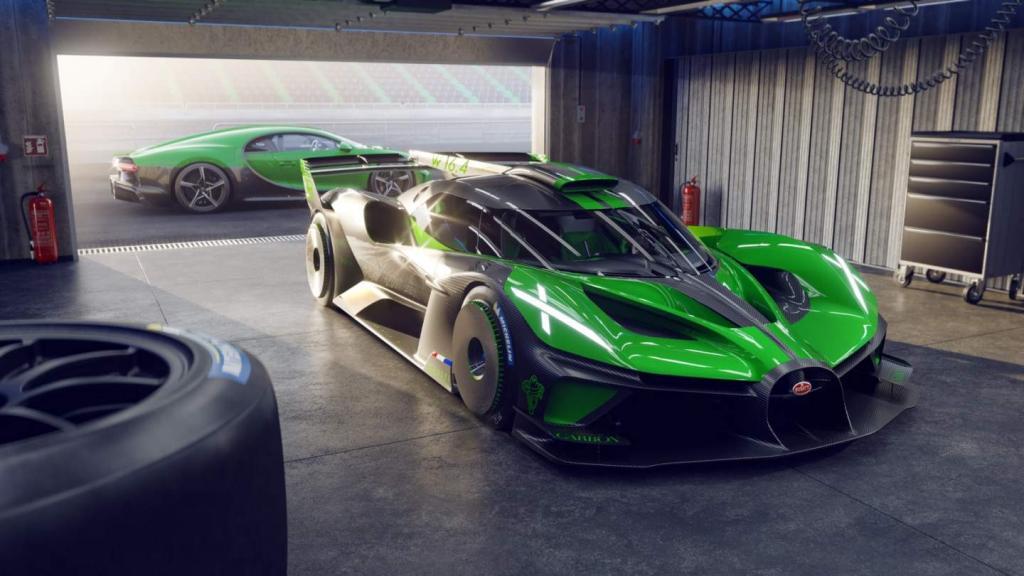 Дальновидный Bugatti: его диковинная концепция Bolide породила серийную модель гоночной машины для 40 счастливчиков
