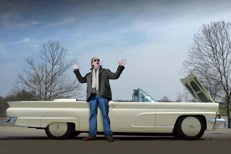 Нил Янг и еще несколько рок-звезд, умеющих выбирать авто