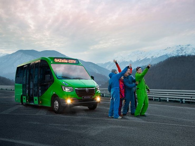 Российский завод ГАЗ снова начал производить легендарные «Победы», но теперь это не легковые авто, а автобусы