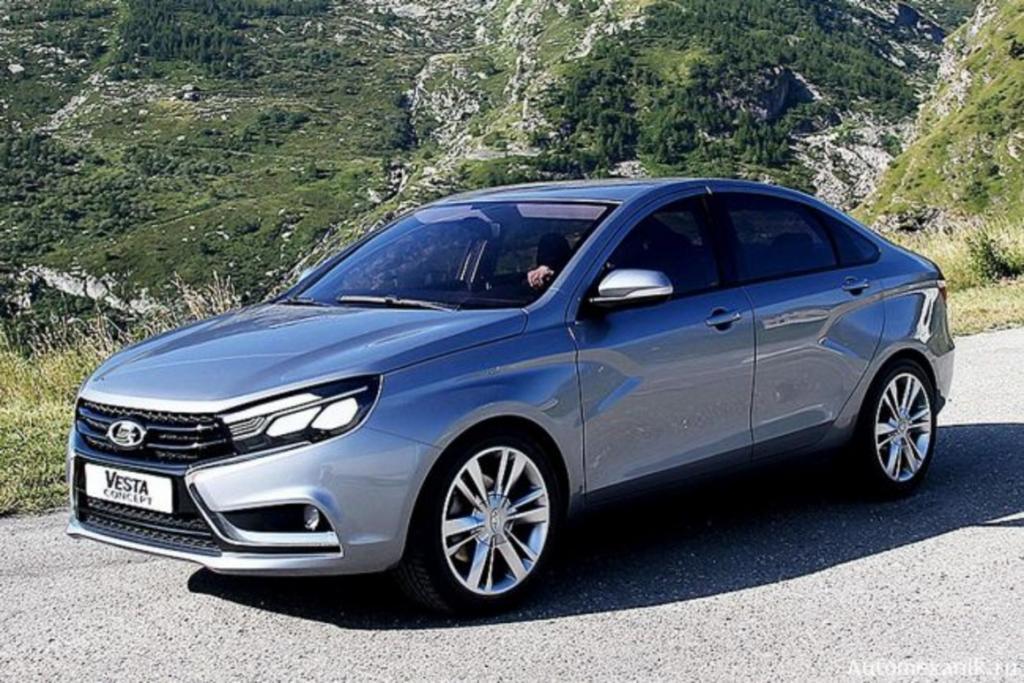 Популярная модель АвтоВАЗа Lada Vesta: когда планируется рестайлинг отечественного бренда