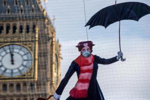 Лондон превысил годовой лимит загрязнения воздуха всего за один месяц