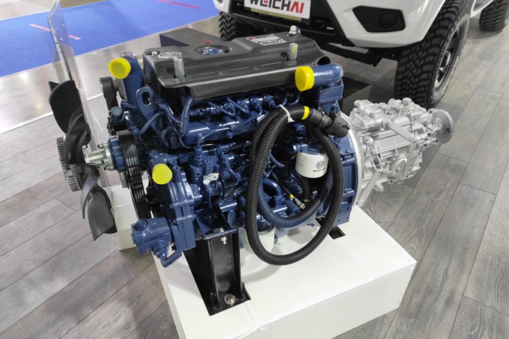 Русский «Патриот» в китайском исполнении. На выставке «Комтранс-2021» представлен УАЗ дизель с двигателем 110 л. с.