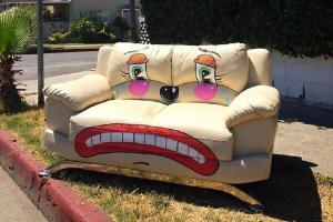 Грустные клоуны: оригинальный стрит-арт от художника из Лос-Анджелеса