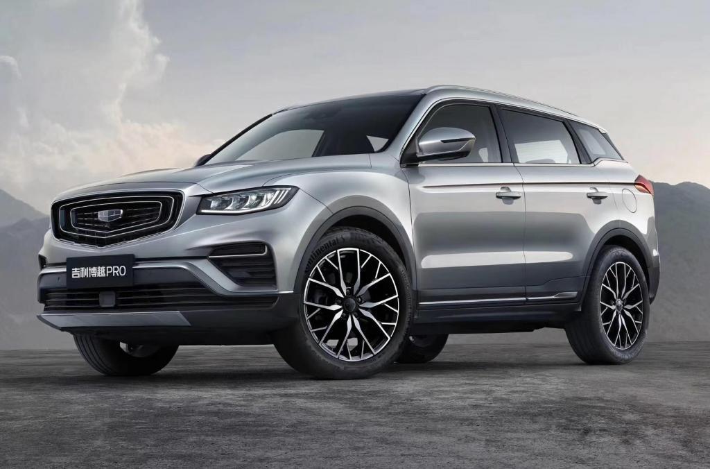 Автомобиль Atlas Pro от Geely начал продаваться в России. В машине использована технология мягкого гибрида