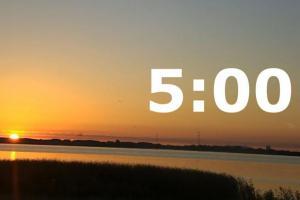 Что улучшится в вашей жизни, если вы будете просыпаться в 5 утра?
