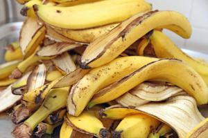 Как можно использовать банановую кожуру: 6 способов