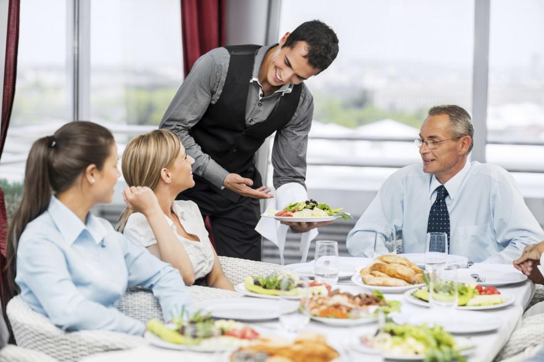 фото сервис в ресторане качестве основы