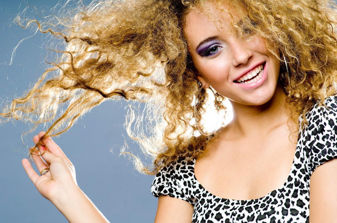 Как сделать кучерявые волосы гуще