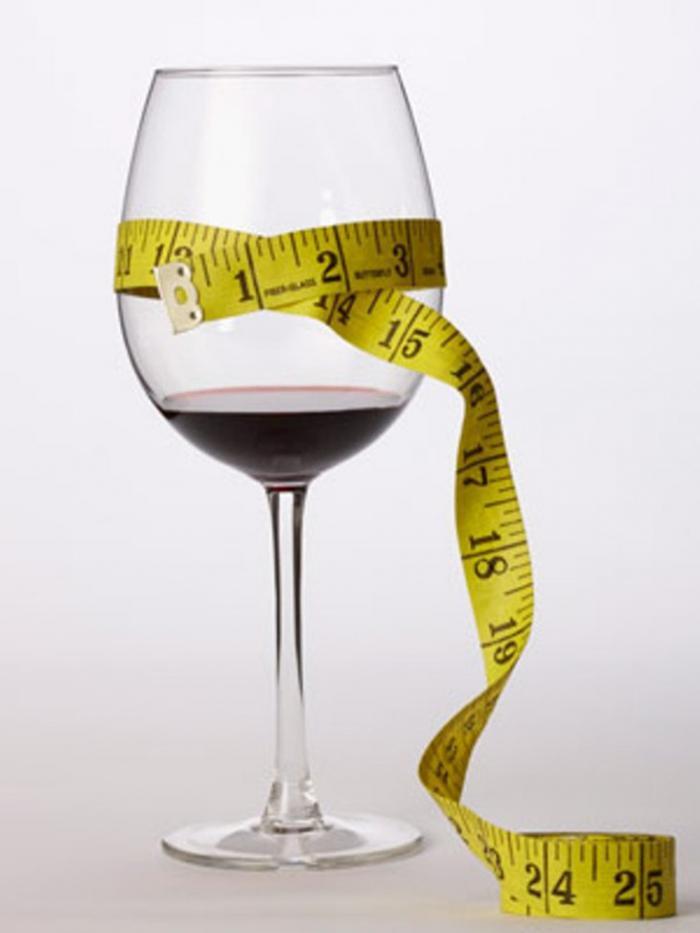 можно ли вино если на диете