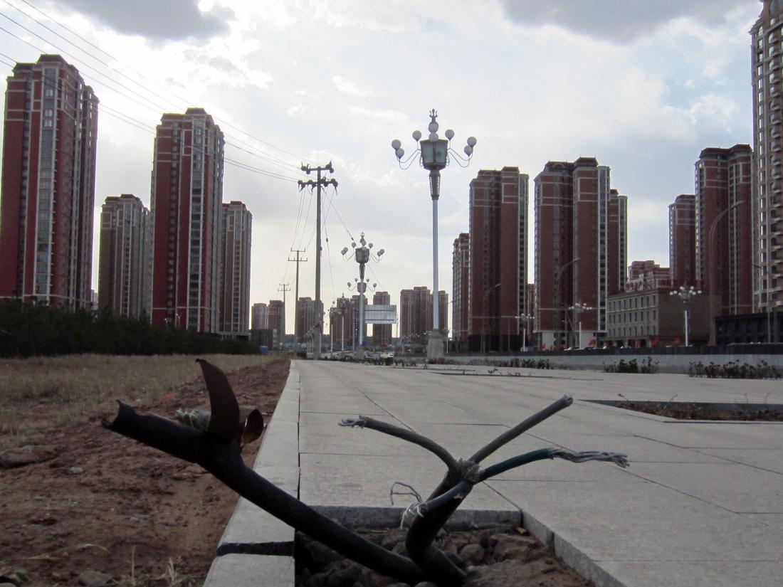 эту пустые города в китае фото для