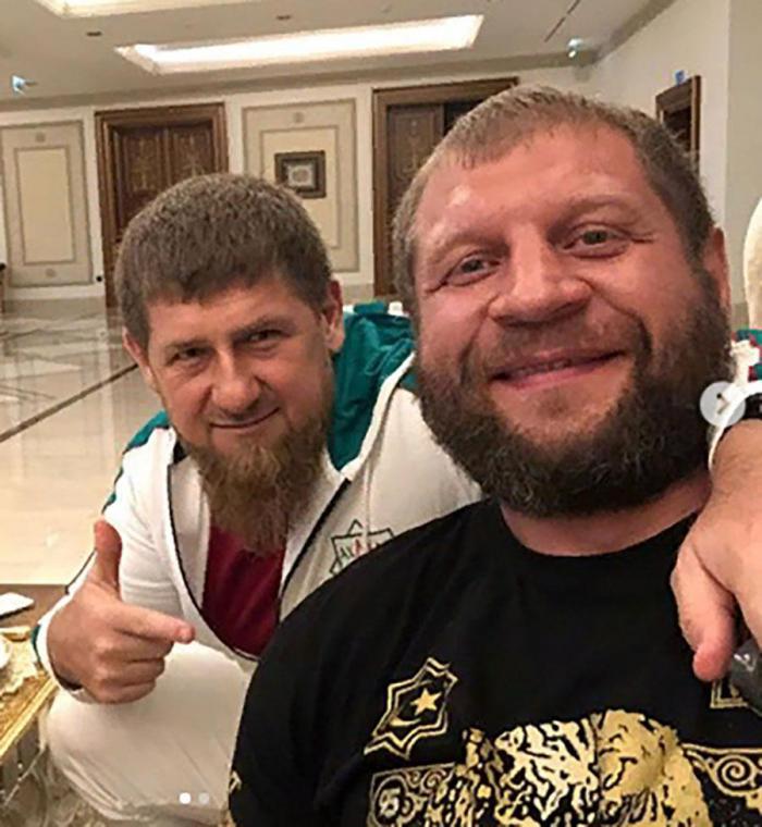 Кадыров дал шанс Емельяненко