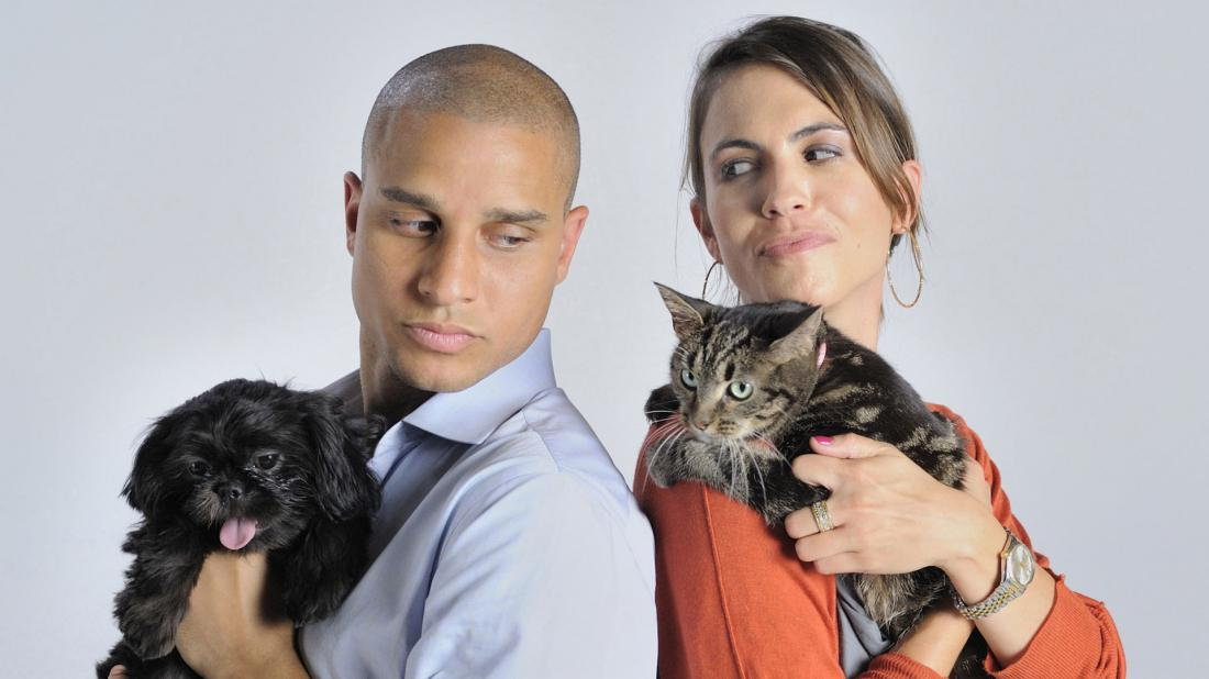 подходящим картинки человек кошка собака называют его иначе