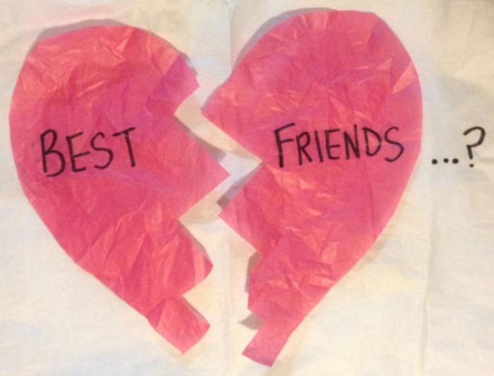 the break up of friendship Real stories from women who've broken up with a friend and gotten dumped.