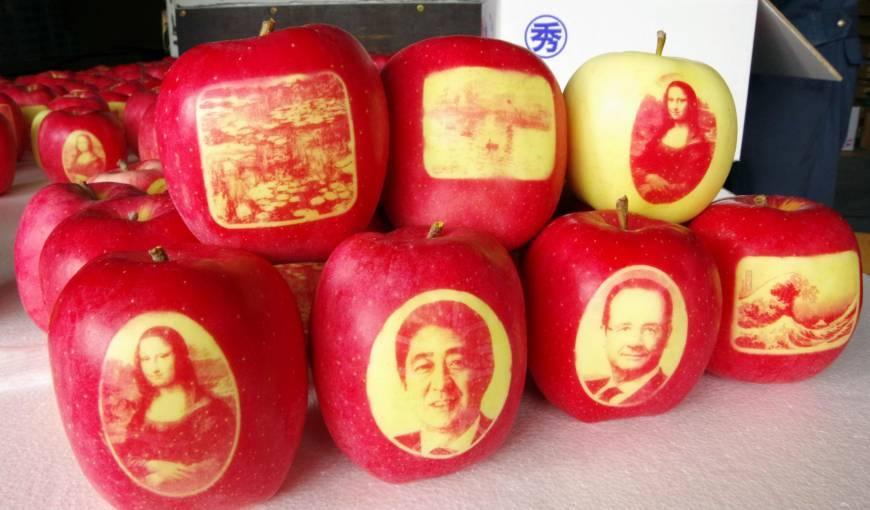 картинки японские яблоки сделаны они довольно