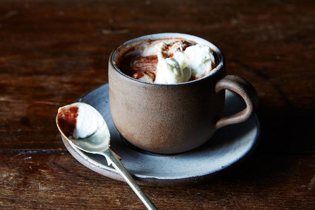 hot chocolate Hot chocolate, also known as drinking chocolate, cocoa, and as chocolate tea in nigeria, is a heated drink consisting of shaved chocolate, melted chocolate or cocoa powder, heated milk or water.